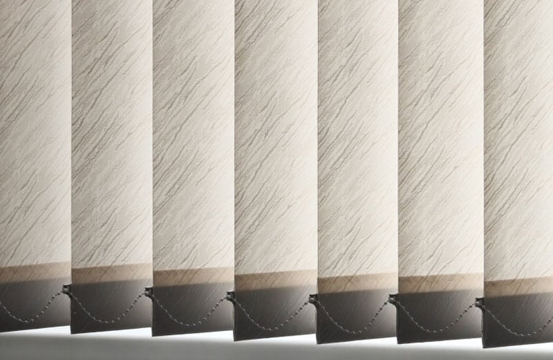 Closed vertical blinds background